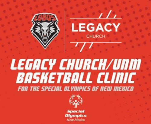 Legacy Church/UNM Basketball Clinic
