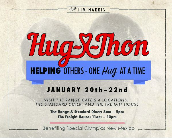 Tim's Hug-A-Thon for Special Olympics NM
