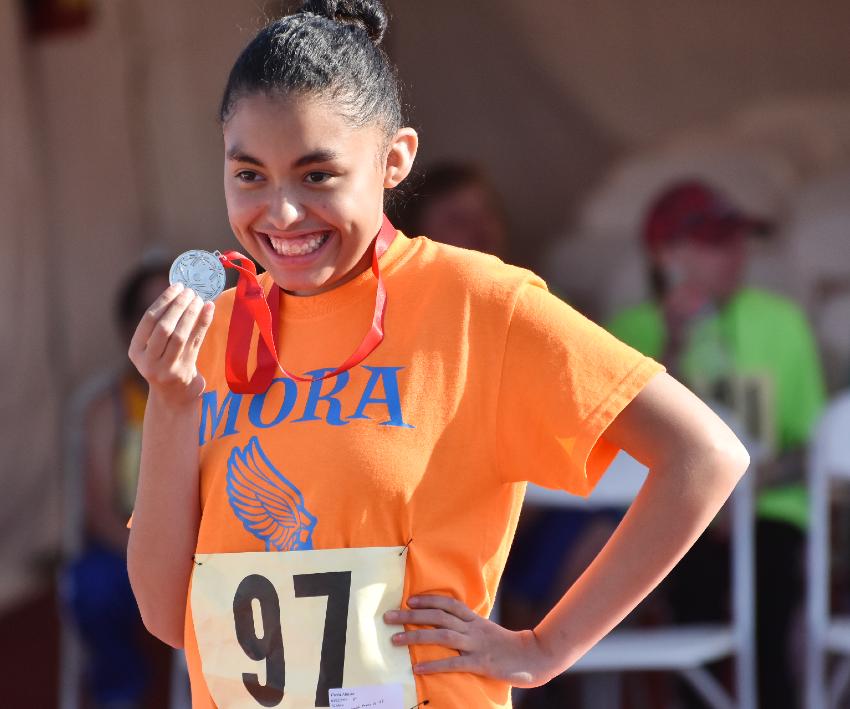 Rectangle athlete medal photo option