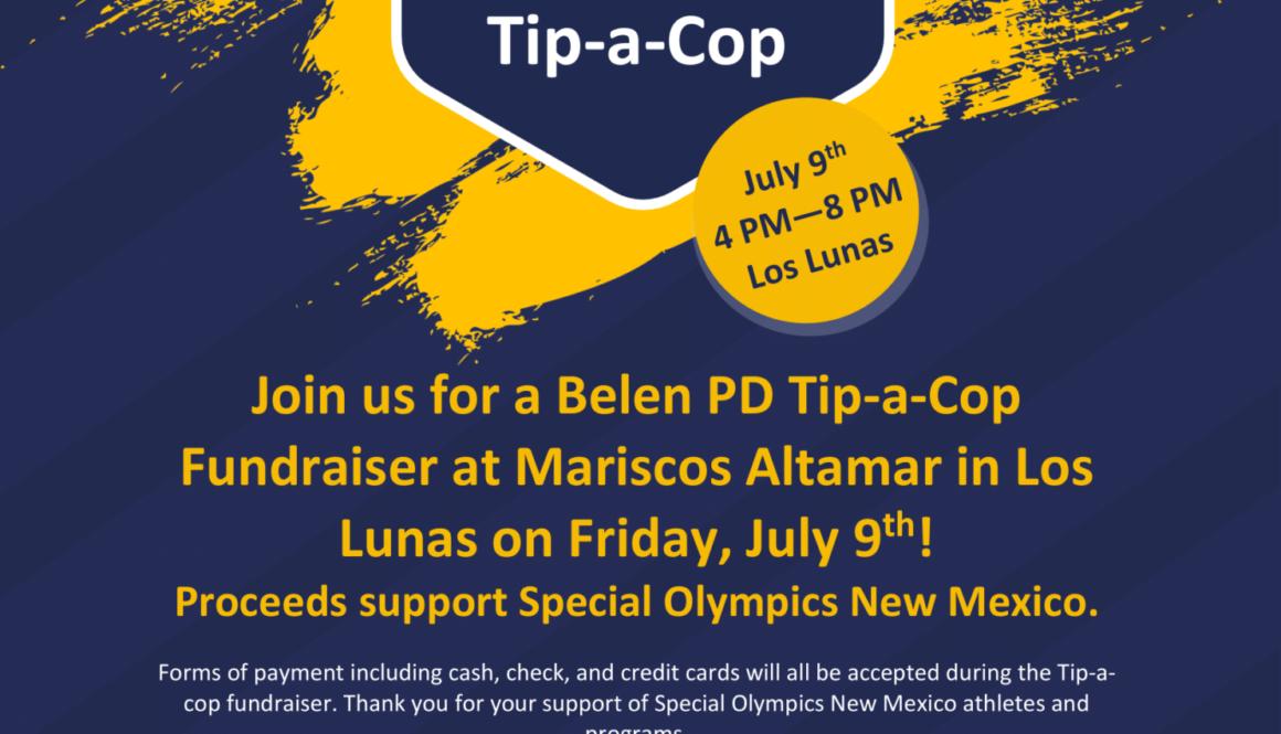 2021 NMLETR July 9 Belen PD Tip a Cop flyer-1