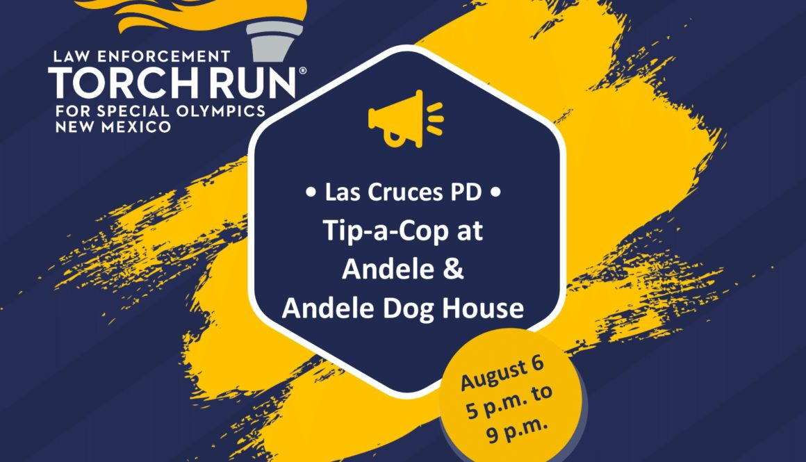 2021 NMLETR Tip a Cop flyer August 6 Las Cruces PD-1